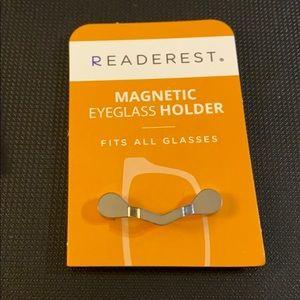 Magnetic Eyeglass, Badge, or Ear Pod Holder.